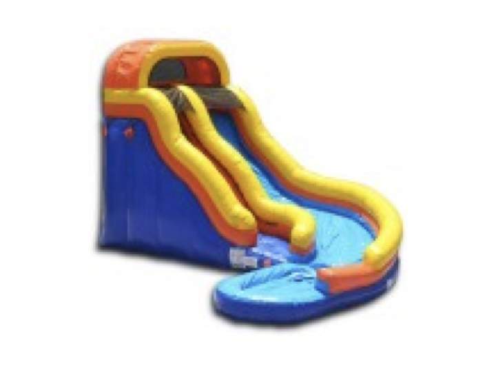 Curved Water Slide Image