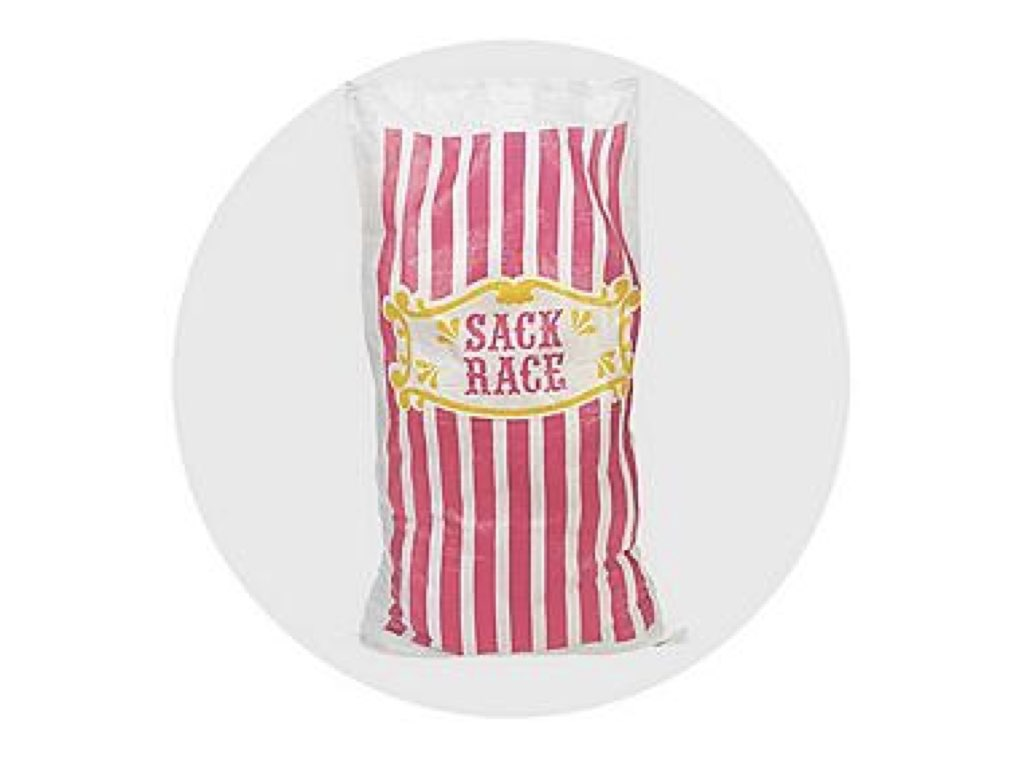 Carnival Design Potato Sack Race Image