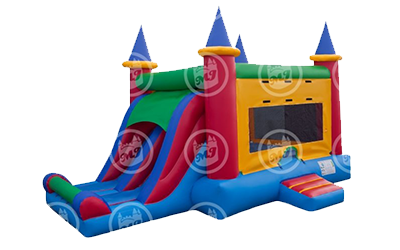 Colorful Castle Double Slide! Image