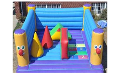 Mr. Smiley Obstacle Course Image