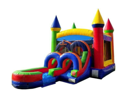 Rainbow Castle Wet Dry Combo Image