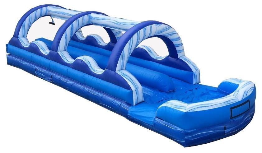 Blue Marble Double-Lane Slip n Slide Image